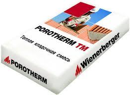 Теплый раствор Porotherm