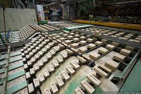 Производство кирпичей в Бельгии